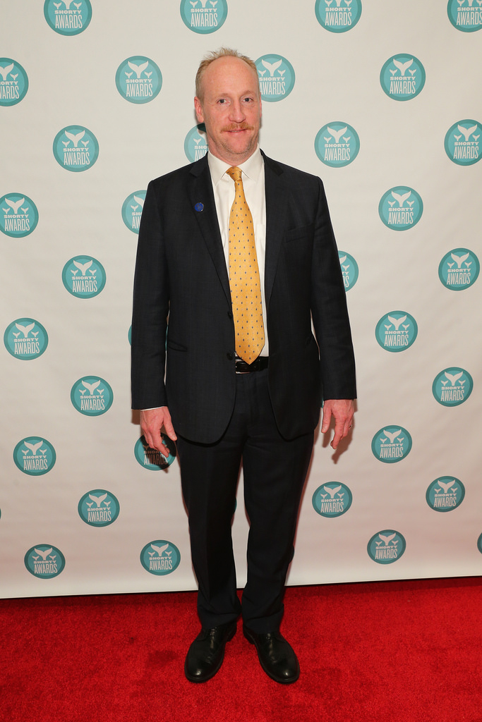 Mr. Walsh on the red carpet. (Photo: Shorty Awards)