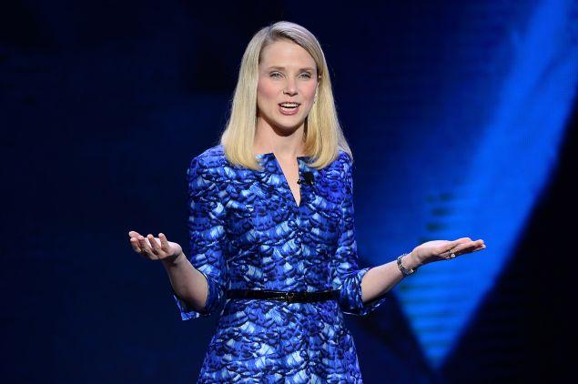 Yahoo CEO Marissa Mayer. (<em>Photo via Getty Images</em>)