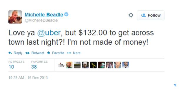Michelle Beadle cap