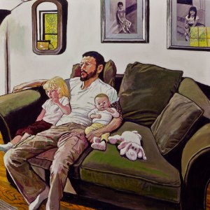 'Joshua and His Children' (2011) by Leipzig. (Courtesy the artist and Gallery Henoch)