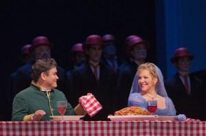 "Javier Camarena as Don Ramiro and Joyce DiDonato as Angelina in Rossini's ""La Cenerentola.""  Photo: Ken Howard/Metropolitan Opera"