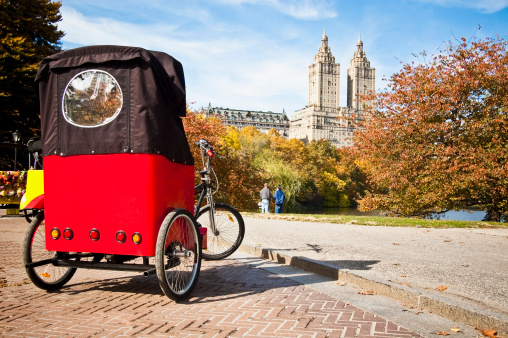 The pedicab business just got a little more competitive (Photo courtesy of Getty).