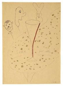 'Sekt für alle (Champagne for all),' ca. 1963.  (Courtesy Michael Werner Gallery)