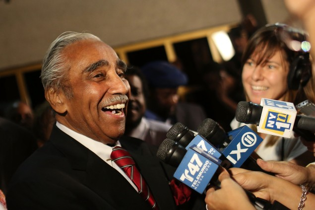 Charlie Rangel.  (Photo by Spencer Platt/Getty Images)