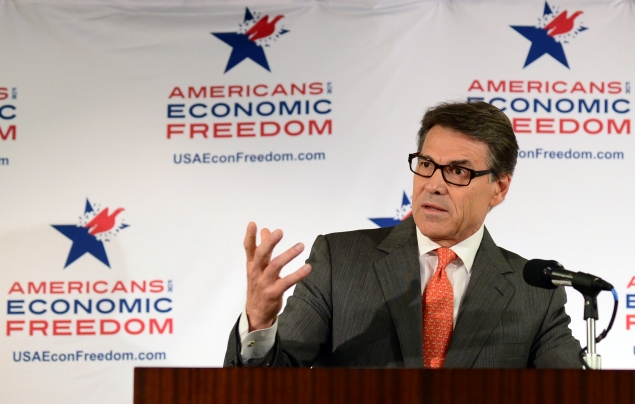 Texas Gov. Rick Perry. (Photo: Frederic Brown/Getty)