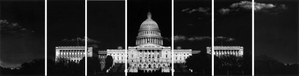 'Untitled (Capitol)' (2012–13) by Longo. (Courtesy the artist and Metro Pictures)