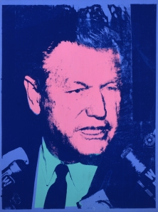 'Nelson Rockefeller' (1967) by Warhol. (© 2014 The Andy Warhol Foundation for the Visual Arts, Inc. / Artists Rights Society (ARS), New York)