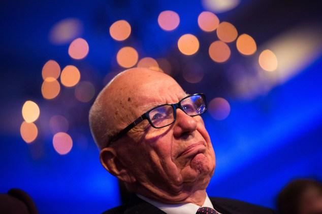 Rupert Murdoch. (Photo via Getty Images)