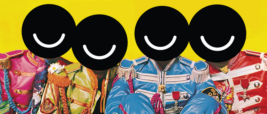 Mr. Budnitz has been re-imagining pop culture icons with sticker-style vandalism and the Ello logo.