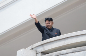 And on the fifth day, Kim Jong Un created the selfie. (Getty)