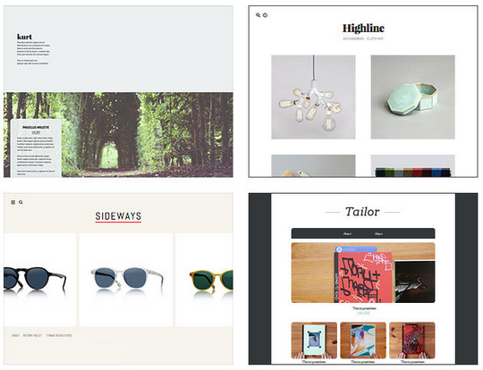 Some sample stores from Tictail. (Screengrab: Tictail.com)