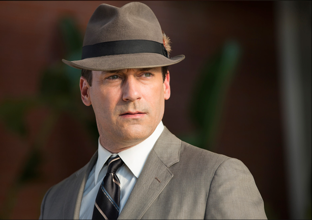 For the love of God, get this guy a new hat. (Photo: blogs.amctv.com/mad-men)