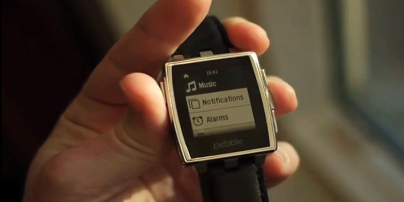 The Pebble Smartwatch was one of the earliest of the meteoric Kickstarter success stories. (photo by Chris F, CC BY 2.0)