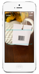 You can scan items from anywhere, and add them to your registry. (Zola)