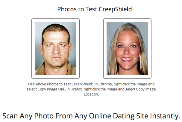 NOTE: Actual creeps' photos may vary. (Screengrab via CreepShield.com)