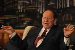 Sheldon Adelson. (<em>Photo via Getty Images</em>)