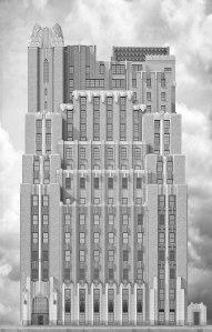 The Ralph Walker-designed Stella Tower.