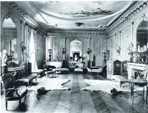 The top-floor ballroom of the Stuyvesant-Fish mansion on Gramercy Park.