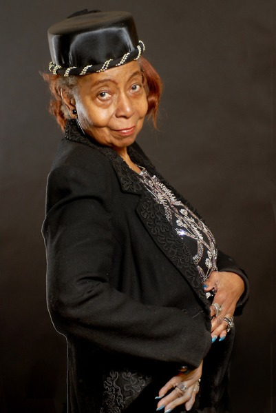 "Ali Riddick, 81, is a member of the Rochdale Neighborhood Senior Center, and of the Department of Aging's ""Stylin' Seniors"" (Photo: Richard Henryhttp://nycseniors.tumblr.com)"