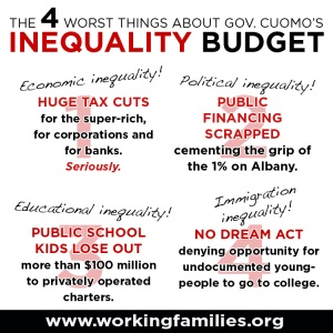 An image included in the Working Families Party email.