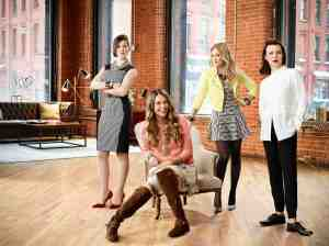 Miriam Shor, Sutton Foster, Hilary Duff, Debi Mazar. (TV Land)