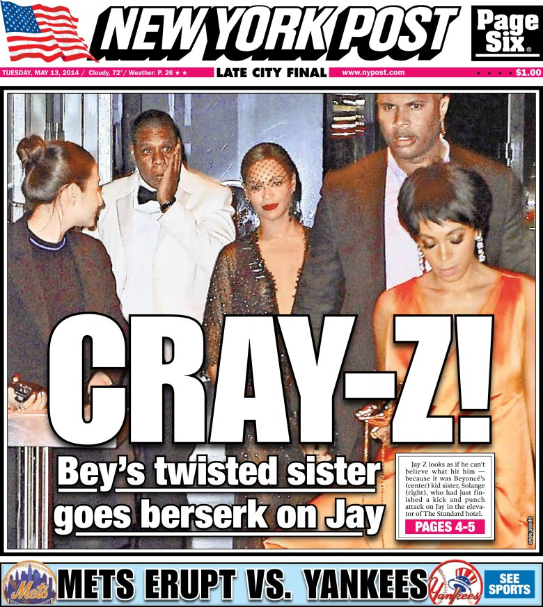 Cray-Z New York Post