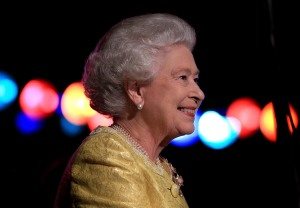 Queen Elizabeth, superstar. (Getty Images)