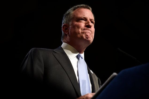 Mayor Bill de Blasio. (Photo: Diana Robinson/NYC Mayor's Office)