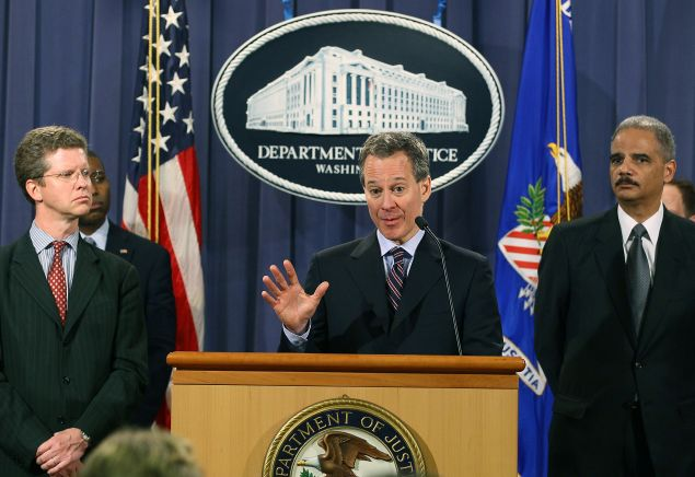 Attorney General Eric Schneiderman. (Photo: Mark Wilson/Getty Images)