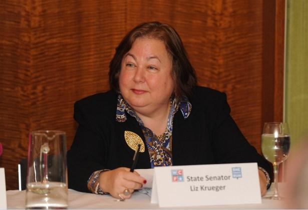 State Senator Liz Krueger in 2012 (Getty Images)