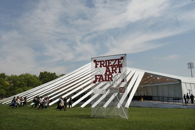 London's Frieze Art Fair Held On Randall's Island In New York City