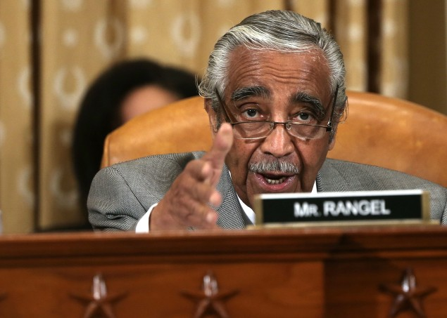 Congressman Charlie Rangel. (Photo:  Alex Wong/Getty Images)