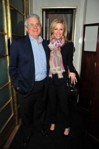 David and Jennifer Stockman. (Patrick McMullan)