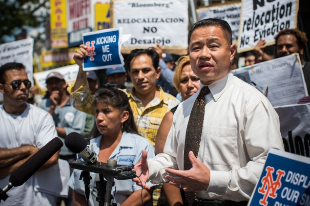 John Liu. (Photo: Andrew Burton/Getty Images News)