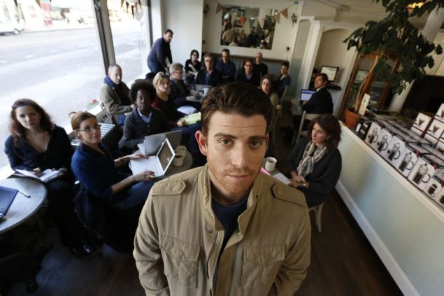 Bryan Greenberg in 'A Short History of Decay.'