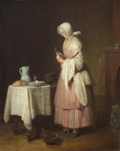 'The Attentive Nurse' (1747) by Chardin. (National Gallery of Art)