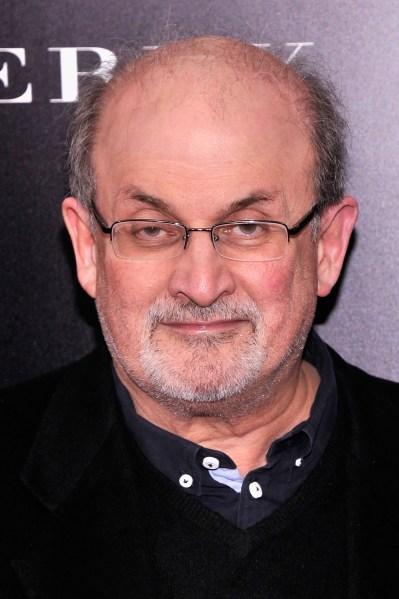 Salman Rushdie. (Getty Images)