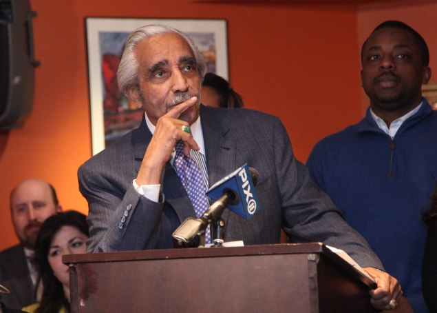 """Congressman Charlie Rangel says his new partnership with Frankly is """"planting a seed"""" for his community. (Getty)"""