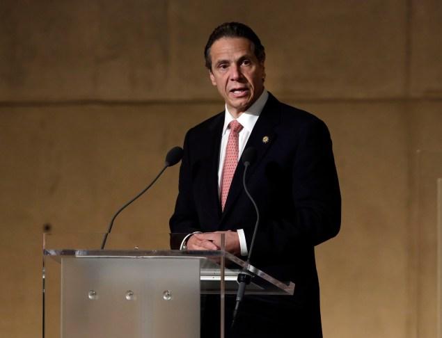 Gov. Andrew Cuomo. (Photo: Richard Drew/Associated Press/POOL)