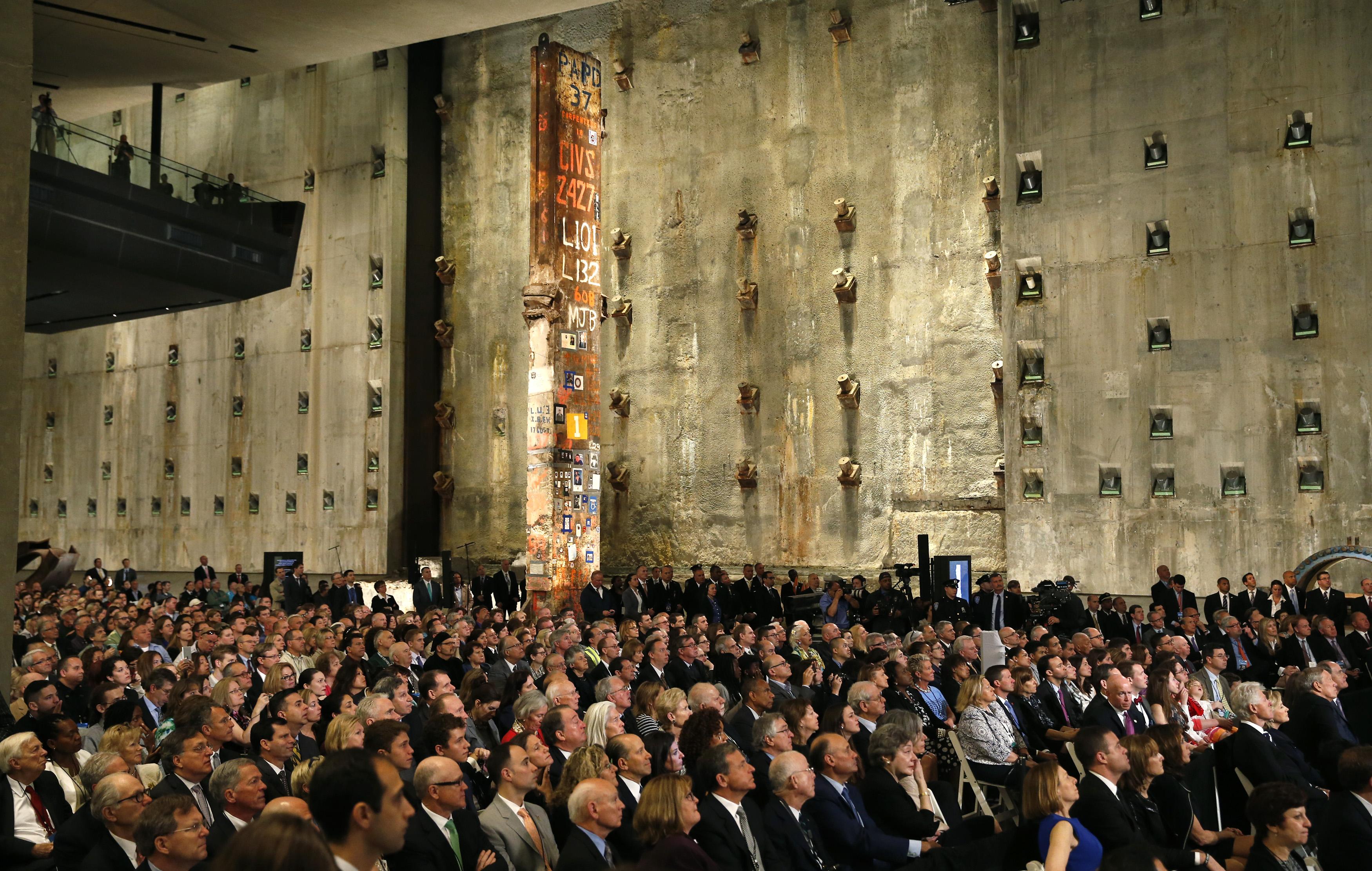 The audience (Mike Segar/REUTERS)