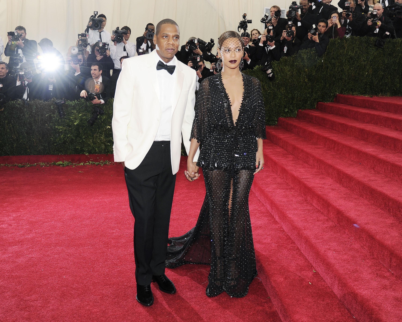 Beyonce and Jay Z at last week's Met gala (Patrick McMullan)