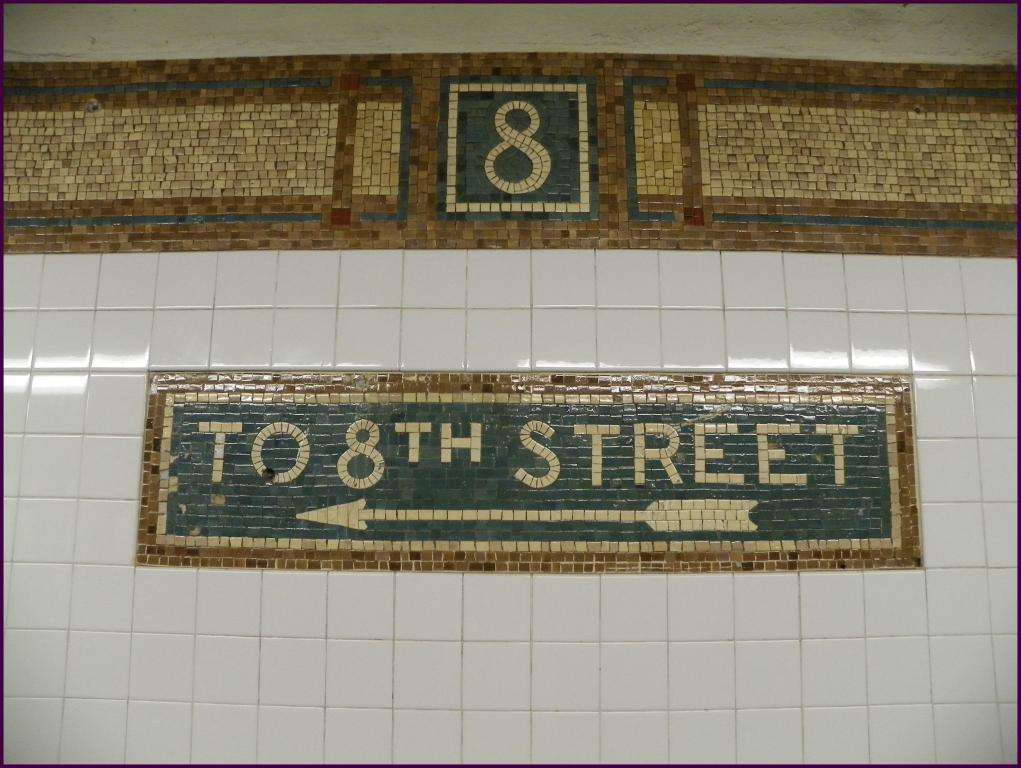 An example of subway mosaic art (All-Nite Images/Flickr Creative Commons)