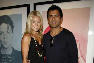 Kelly Ripa and Mark Consuelos. (Patrick McMullan)