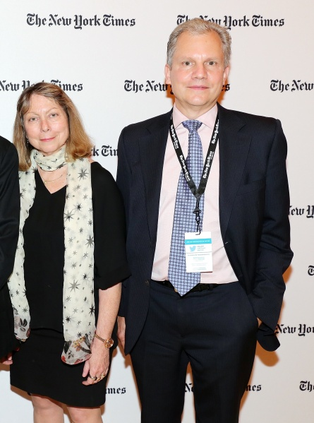 Jill Abramson and Arthur Sulzberger.