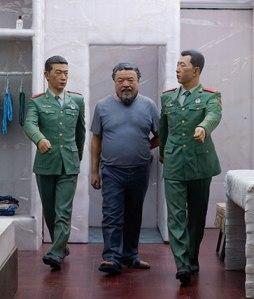 Ai Weiwei (Chinese, b. 1957). R itual (detail), 2011-2013. From the work S.A.C.R.E.D., 2011‒13.  (Courtesy of Ai Weiwei Studio. © Ai Weiwei)