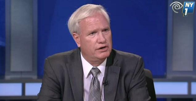 State Senator Tony Avella. (Screengrab: NY1)