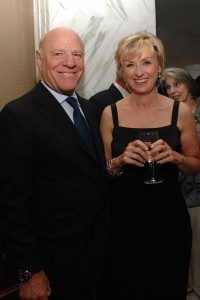 Barry Diller and Tina Brown, back in 2007. (Patrick McMullan)
