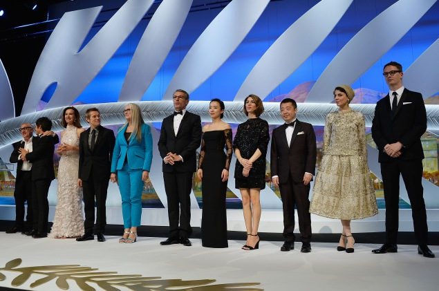 The opening ceremony of the 67th Annual Cannes Film Festival. (Photo via Getty Images)
