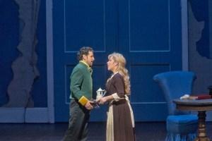"Juan Diego Flórez as Don Ramiro and Joyce DiDonato as Angelina in Rossini's ""La Cenerentola.""  Photo: Ken Howard/Metropolitan Opera"