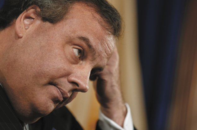 Chris Christie rose to national fame astride a week of loving coverage. (Photo via Getty Images)